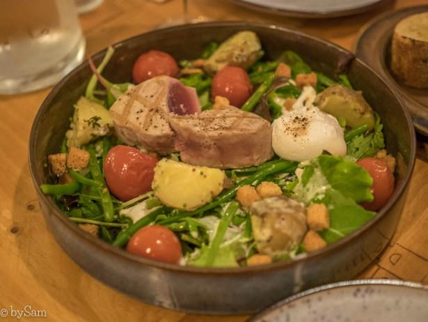 PEQU restaurant Amsterdam Jordaan lunch salade