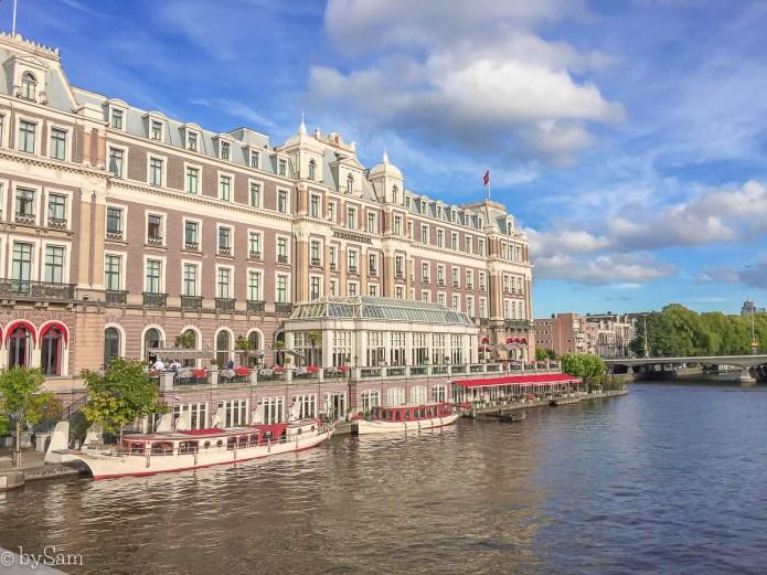 InterContinental Amstel Amsterdam hotel restaurant