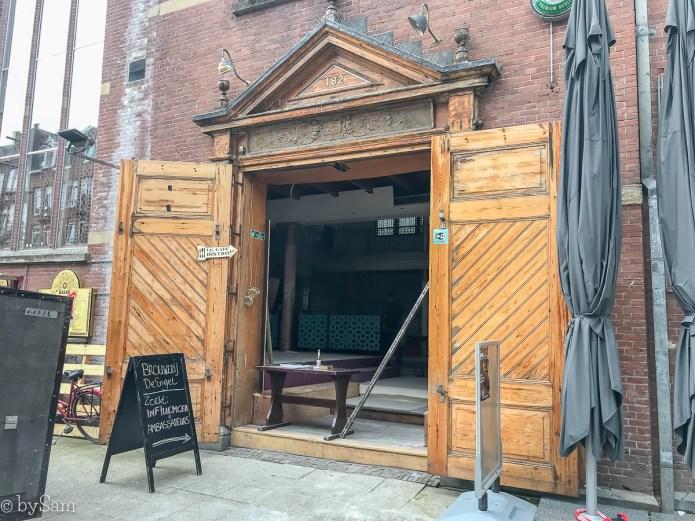 Bierbrouwerij De Engel Amsterdam Albert Cuypstraat