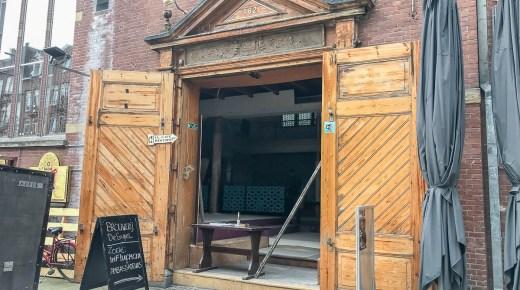 Brouwerij de Engel nieuwe brouwerij en bierproeflokaal op de Albert Cuypstraat