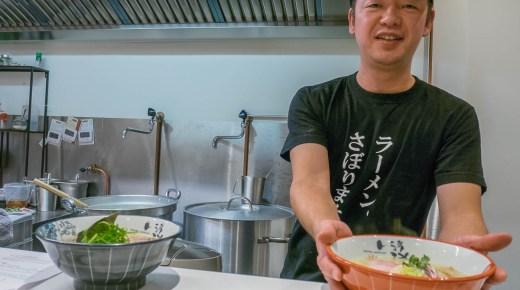 Tonkotsu Ramen NIKKOU nieuwe zaak van bekende ramenchef Nikkou