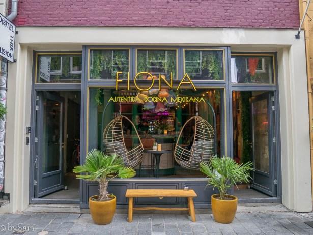 Fiona Amsterdam gevel Warmoesstraat