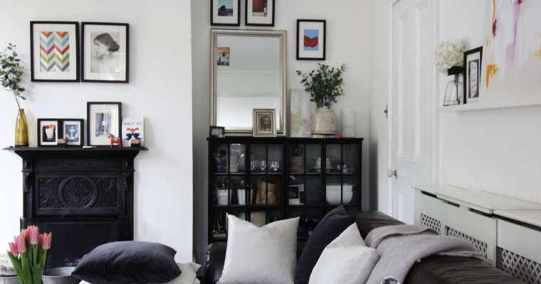 In my living room – tips for long and narrow rooms