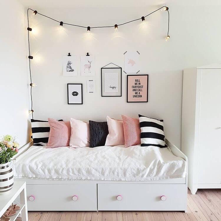 Bedroom Decor Pink And Grey