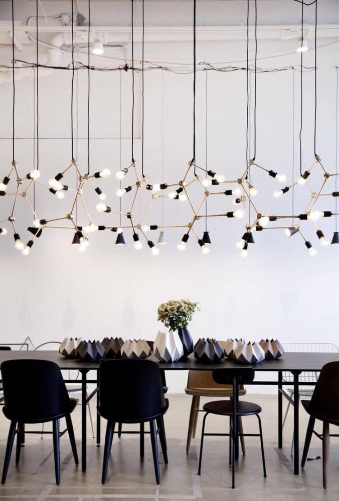 statement modern chandelier