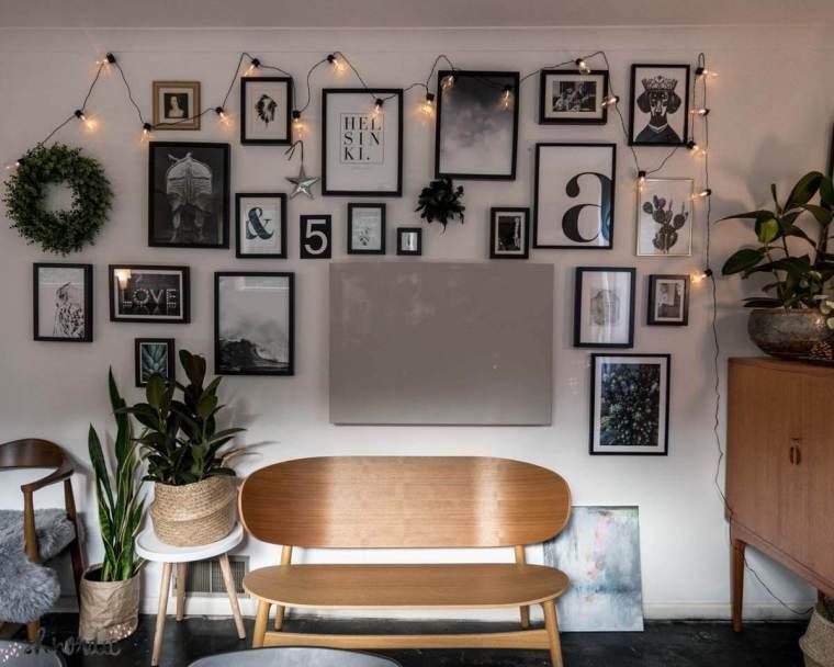 Monochrome gallery wall inspiration