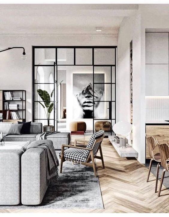 Calm and sophisticated decor