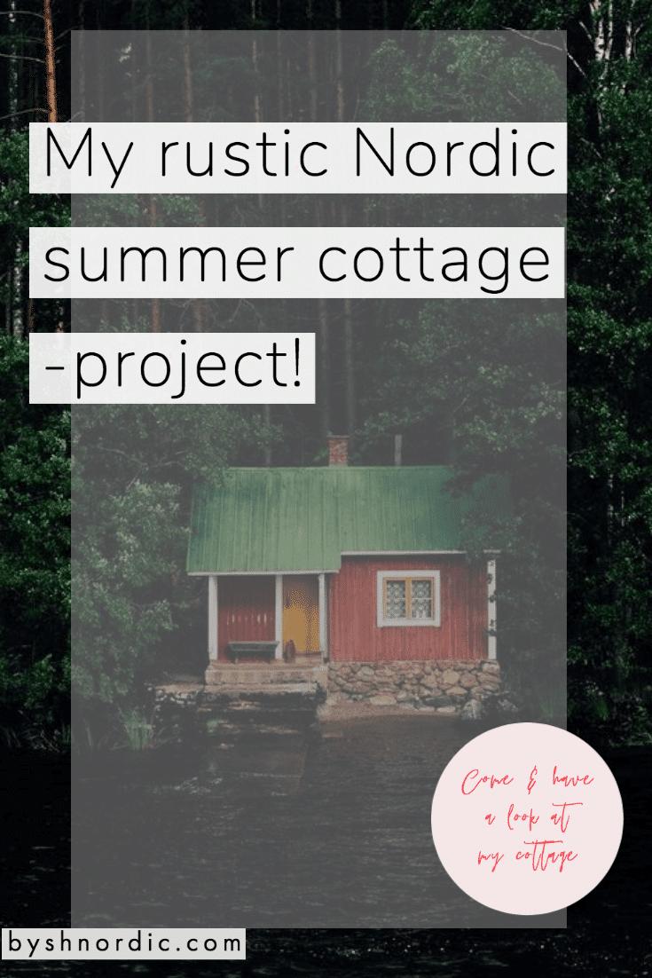 Designing a Nordic summer cottage