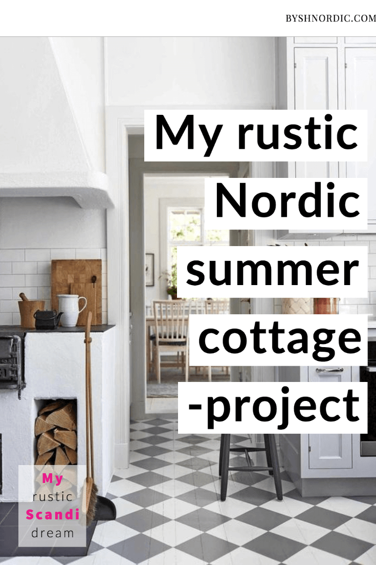 Designing a Nordic summer cottage