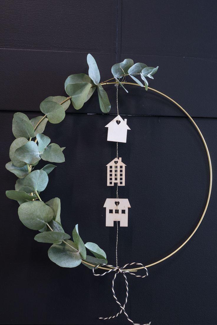 simple diy door wreath