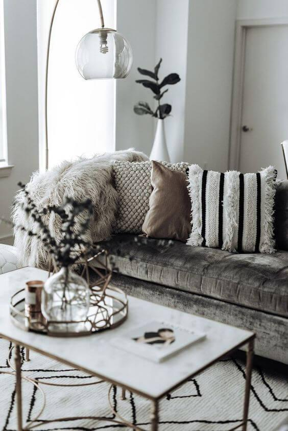 beautiful living room floor light