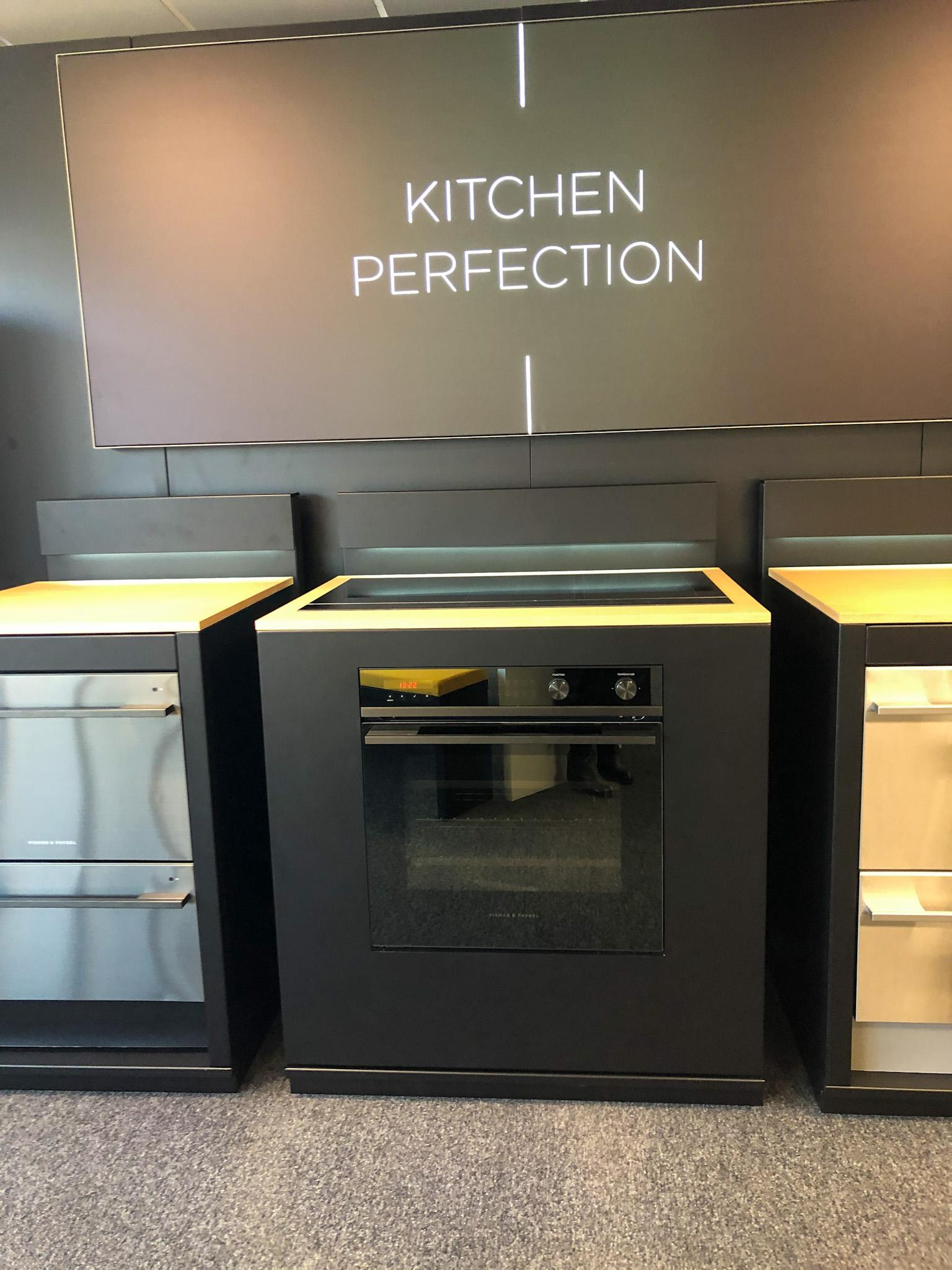fisher and paykel kitchen appliances