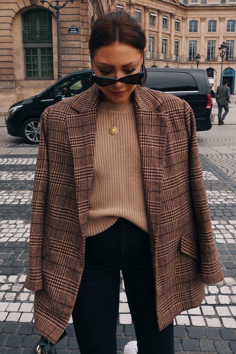 checker blazers