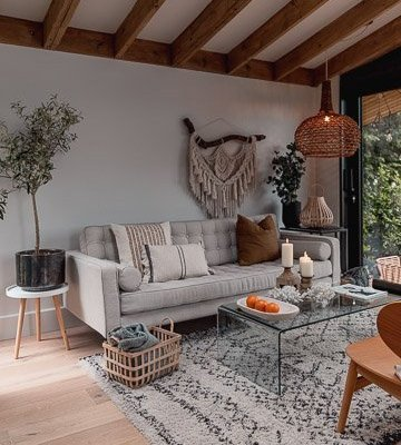 neutral home with natural details by SHnordic