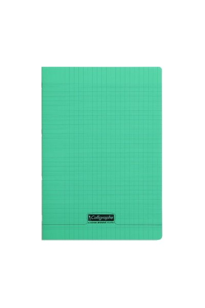 cahier pique polypro vert 21x29 7cm 96p seyes 90g