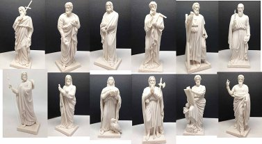 The Twelve Apostles, by Thorvaldsen