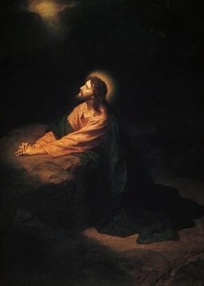 Christ in Gethsemane (1890), by Heinrich Hofmann