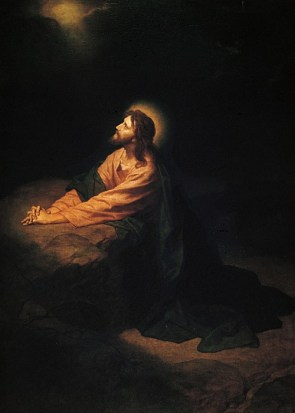 Christ in Gethsemane (1890), by Heinrich Hofmann