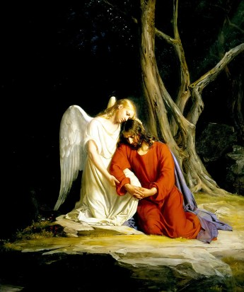 Gethsemane. by Carl Bloch