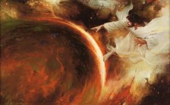 Jehovah Creates the Earth, by Walter Rane