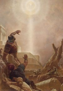Jesus Christ Appears to the Nephites, by Arnold Friberg