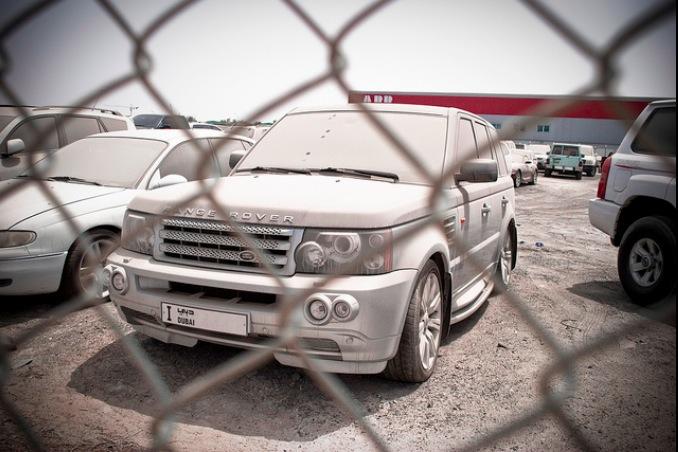Dumpad Range Rover