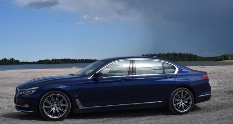 BMW 7 series 2017 - BMW 740 Le (2)e