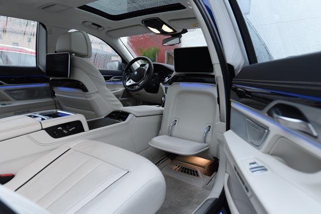 BMW 7 series limousine 2017e
