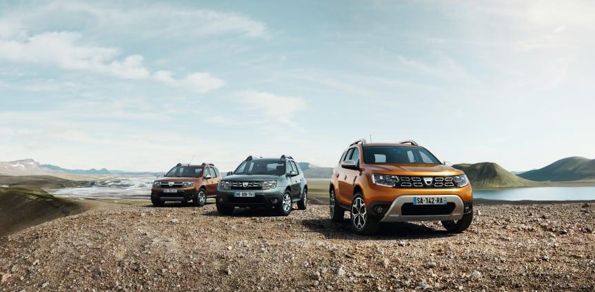 Nya Dacia Duster 2018 - Nu ännu bättre!