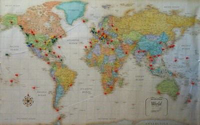 Our RTW Route