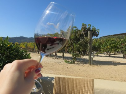 Being a wine snob at Robert Mondavi Winery -- and finally finding a red I like!