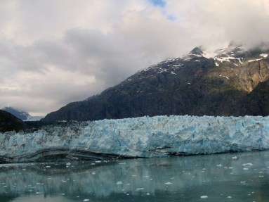 Checking out the glaciers.