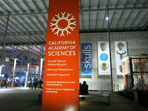 California Academy of Sciences at Night