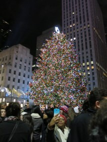 The famed Rockefeller Christmas Tree
