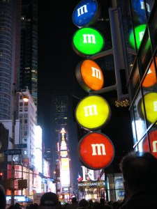 M&M's World in Times Square