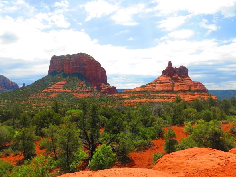 Bell Rock and Courthouse Butte.