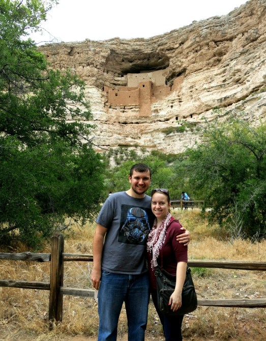 Enjoying Montezuma Castle