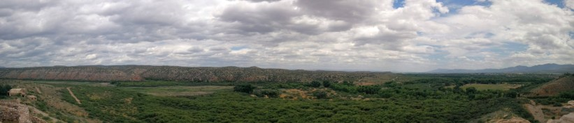 Tuzigoot View Panorama