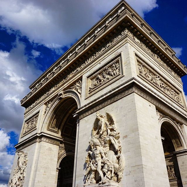 Arc de Tripmohe, Paris.