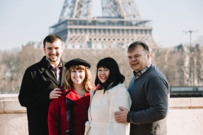 The family in Paris!