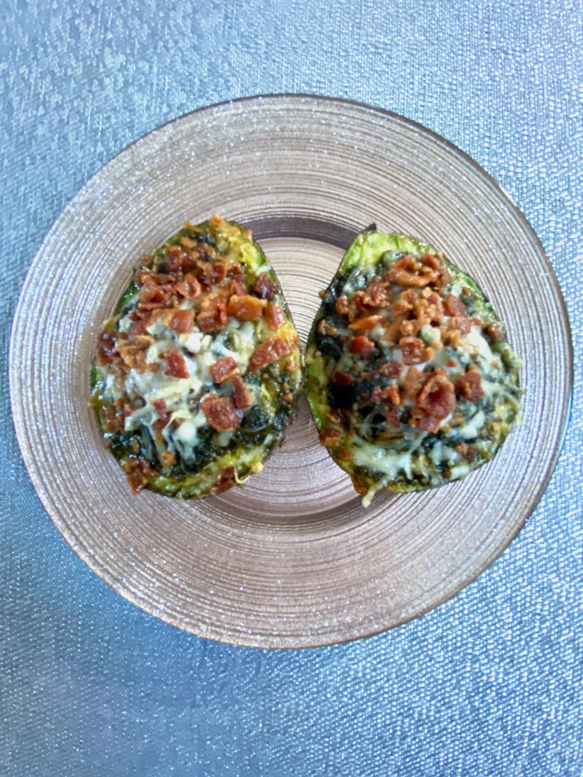 Pesto Avocado Egg Boats Edit