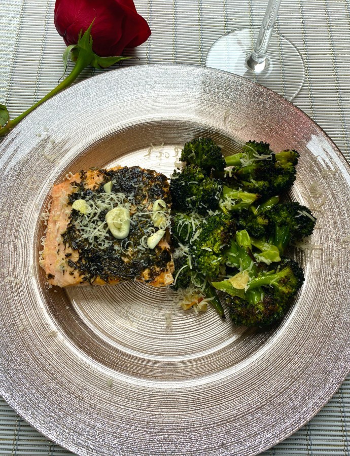 Herbed Baked Salmon