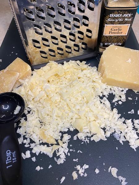 Garlic Parmesan Crisps Ingredients