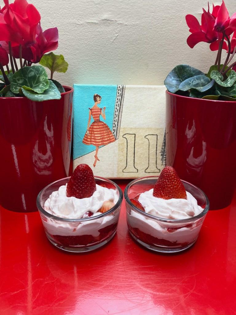 Strawberry Vanilla Parfait