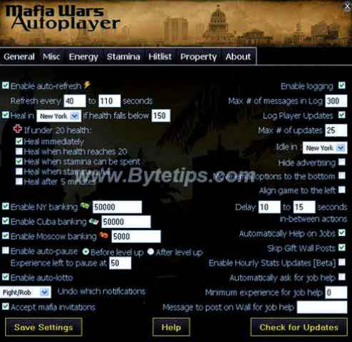 Mafia wars Facebook Cheat tool