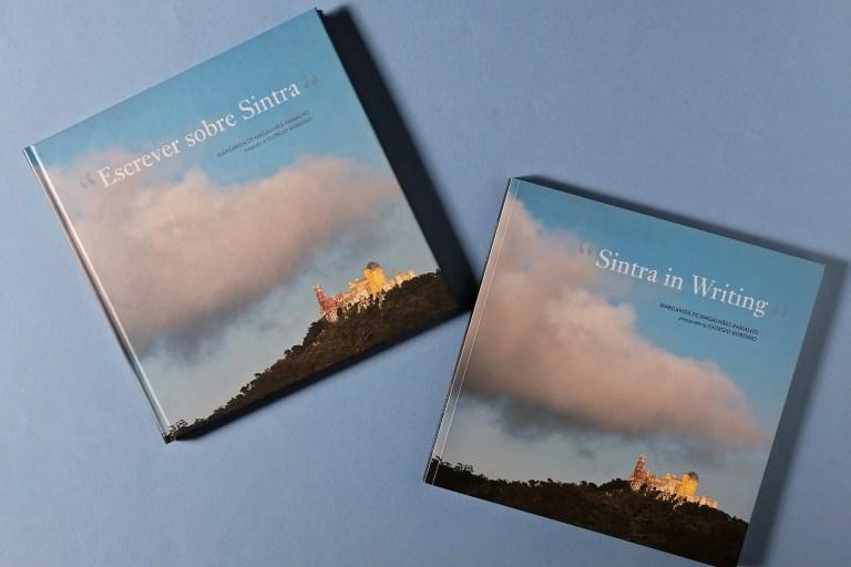 capas portugues e ingles Escrever sobre Sintra