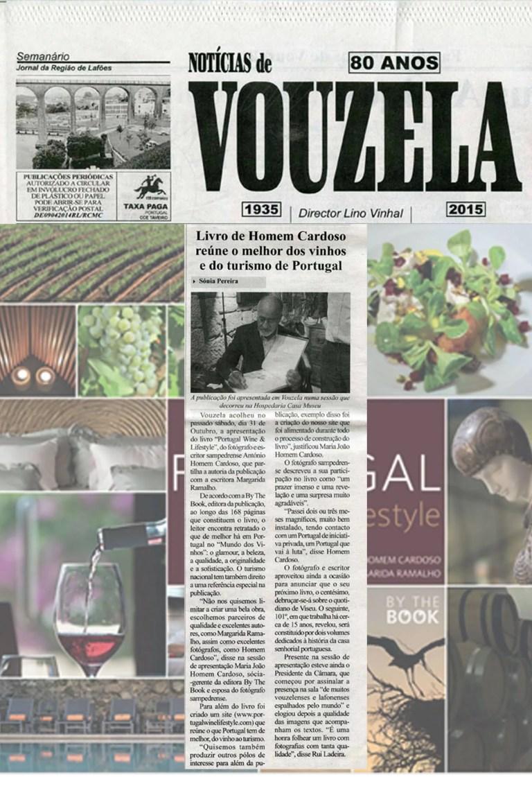 """Notícias e sempre boas das apresentações do nosso livro """"Portugal:Wine & Lif…"""