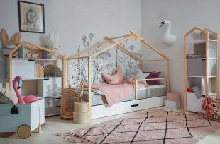 Koniec neporiadku v detskej izbe – pomôže regál na hračky do detskej izby