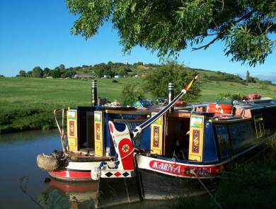 moored at Napton 2
