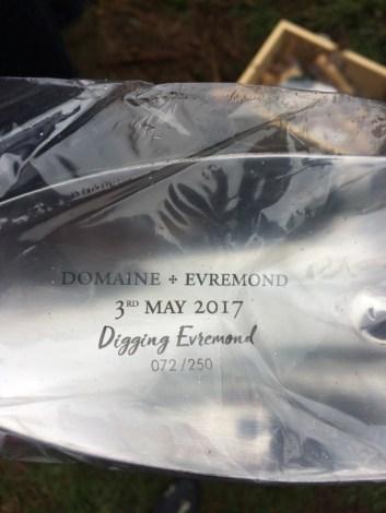 Digging Evremond